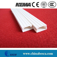 White/Gray PVC Wire Duct