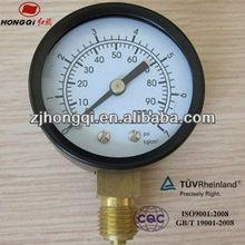 """50mm(2"""") cng wika pressure gauge manufacturer 0~100 psi"""