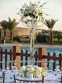 Hot! Tall 5 braços candelabro de cristal castiçais& candelabro com taças para flores( bs- ch049)