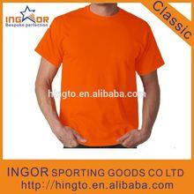 orange safety t shirt, can sew Reflective stripe