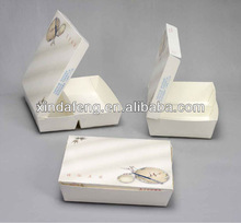 two compartment food meal box/paper lunch box