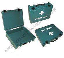 emergency plastic first aid kit empty box