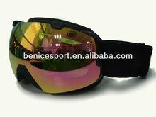 Full lens green REVO red cheap ski goggles,best selling ski goggles,snow ski goggles