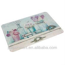 Decorative Custom Made Tempered Glass Cutting Board