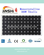 Cheap 300 Watts mono Solar Panel module stock for roof solar system