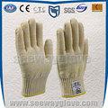 Seeway EN407 estándar proteger a altas temperaturas guantes de horno, hace of aramida y algodón