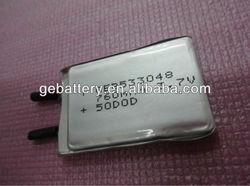 Alibaba best sellers 3.6V 750mAh Li-ion Rechargeable Battery