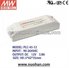 Meanwell 45W LED Power Supply LED Driver 12v