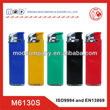 plastic butane gas lighter with certificate for Europe-lighter manufacture