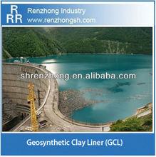 Bentonite dam liner