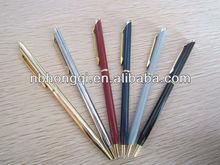 High quality Upper class Promotional Twist Metal Brass Pens