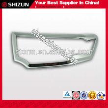 Sizzle Car Accessories Chrome Tail Lamp Cover for Mitsubishi Pajero 2012
