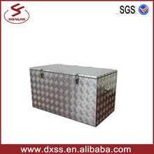 Diamond Aluminum cooler box storage cooling box