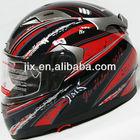 2013 New Full Face Jet Motorcyle Scooter Helmet FF002 Red