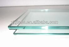 8+8 aluminum toughened roof skylight glass