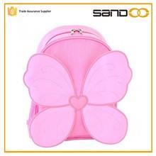 Fairy Wings cute butterfly kids bag, Pink kids school bags for girls