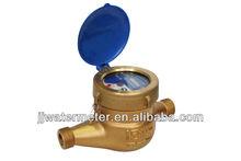 Multi-jet Wet-dial Liquid Sealed Water Meter