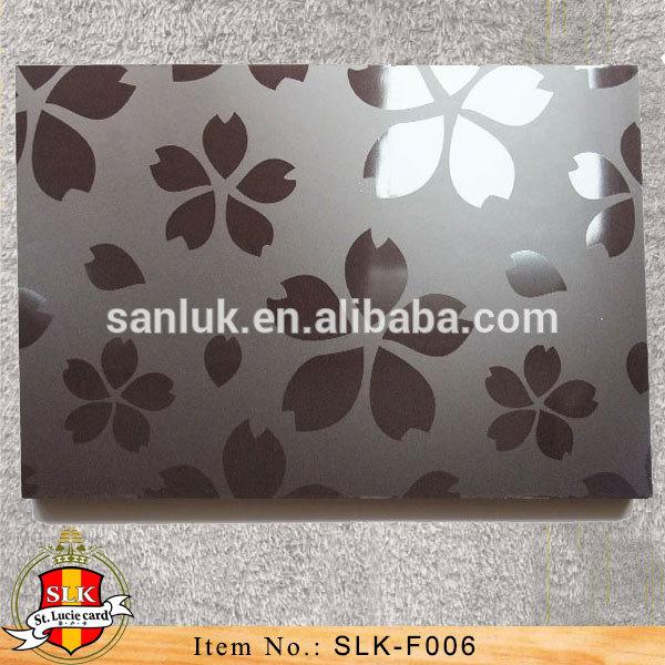 UV MDF With Flower Design Panel for Kitchen Cabinet Wardrobe SLK-33-13-03