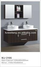New design modein solid wood bathroom cabinet MJ-2106