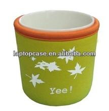 Neoprene coffee sleeve cup cover