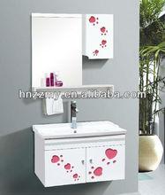 2014 good sale Bathroom Vanity /Basin vanity Sink Vanity with PVC material