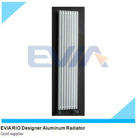 Vertical Wall Mounted Central Heating Aluminum Radiators For Sale