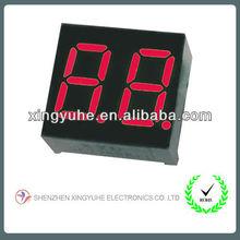 Shenzhen led manufacturer for 0.36'' two digit led digital display 7 segment led display