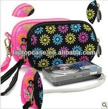 Portable standard neoprene camera case with strap