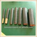 elíptica flexible de guía de onda hexu microondas