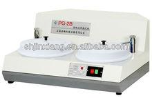 Model PG-2B double speed 2 wheel polishing machine factory,polisher