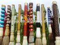 la feria de cantón chino cepillo de jade decorativos cepillo de la escritura en la acción