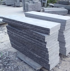 china blue limestone for tumble,flamed products