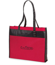 2014 hot-sell promotion cheap logo shopping bags convention tote