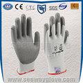 seeway hppe de palma de la pu recubierto de trabajo de seguridad guantes resistentes al corte