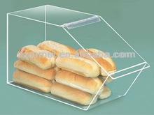 2013 acrylic bakery display box/bakery box/candy/bread box