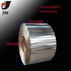Metalized plastic film roll