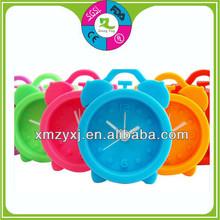 2014 cute silicone alarm clock