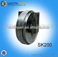 Spare parts kobelco idler for SK200 crawler excavator