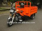 Orange Color 200CC Water Cooling Cargo Three Wheeler