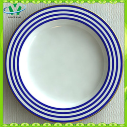 Factory Directly Wholesale Round White Porcelain Plates