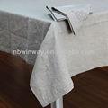 100% linho toalha de mesa/toalha de mesa restaurante