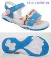 2014 china barato atacado plano adorável crochet crianças sandálias de bebê sapatos