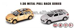 Popular die cast car toyota model
