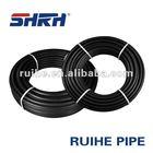 Polyethylene roll pipe