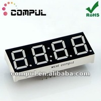 """CPS05643BR, 0.56"""" Four Digits 7 Segment LED Clock Display"""