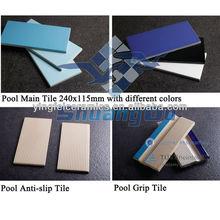 """48*48mm(2""""x2) swimming pool bullnose tile"""