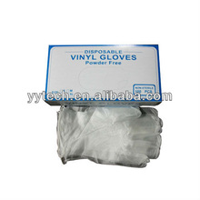 Disposable Medical Vinyl Gloves, Waterproof Environment Protection Various Designs Available