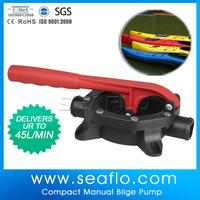 Manual Water Pump SEAFLO 12V 720GPH Diaphragm Hand Pump For Kayak Boat Yacht