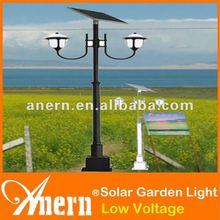 Energy Saving 2x7W Garden Solar Light For Outdoor With Dual Lighting Effect