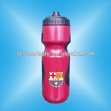 650ml de grado de alimentos personalizada red bull botella de los deportes